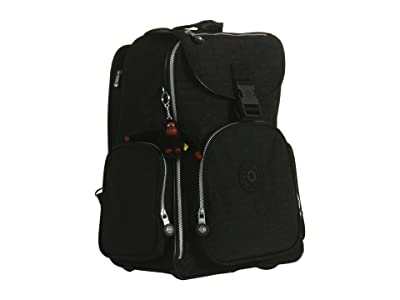 Kipling Alcatraz II Backpack With Laptop Protection (Black) Backpack Bags