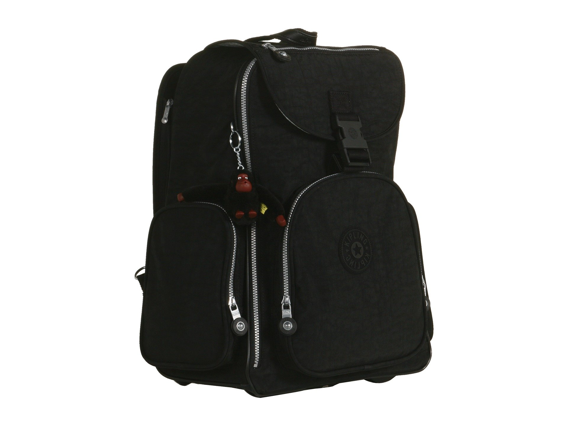 Black Backpack Alcatraz Laptop Ii With Kipling Protection xv7OqwCpTp