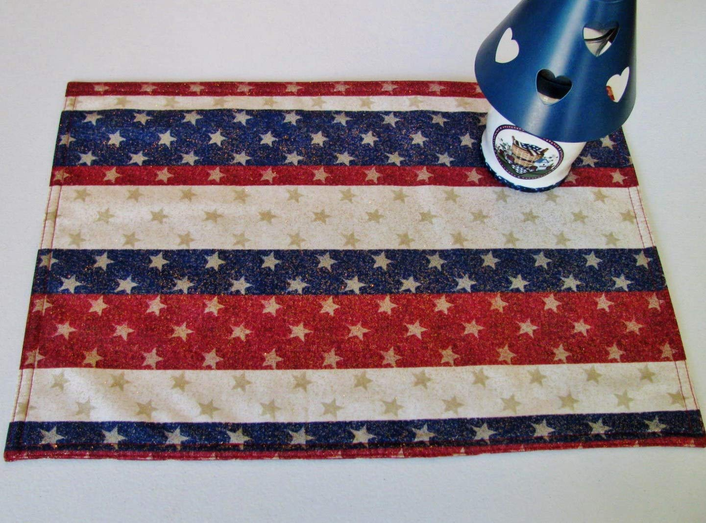 Stars Stripes Placemats Individually Bombing free shipping Max 48% OFF Priced