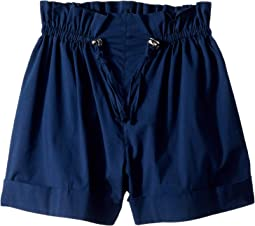 Brenda Paperbag Cuffed Shorts (Big Kids)