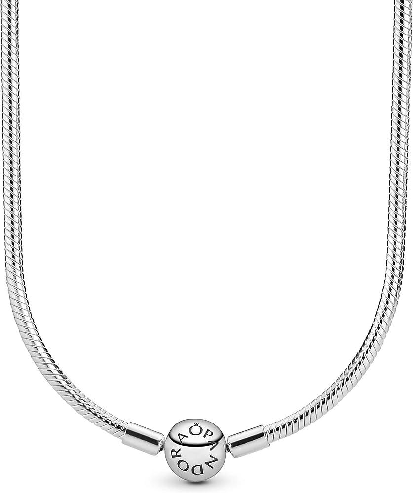 Pandora,collier,collana per donna,in argento sterling 925 590742HV