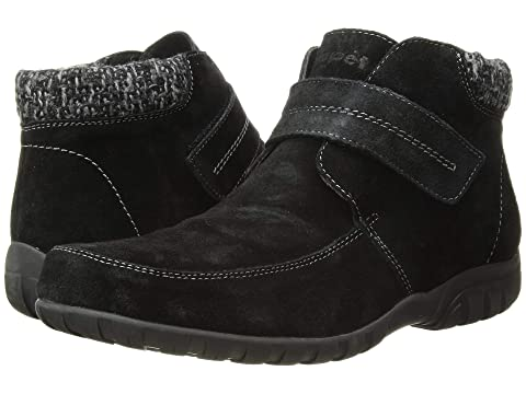 b Black Bootie Style Velcro Closure Propet Size 11 M Womens Shoes