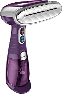 Conair Turbo Extreme Steam Hand Held Fabric Steamer - Kills 99.9% of Germs and Bacteria; Purple - Amazon Exclusive