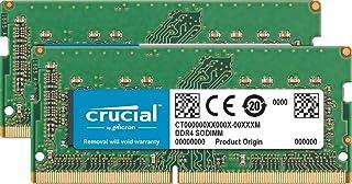 Crucial CT2K32G4S266M zestaw 64 GB (32 GB x2) (DDR4, 2666 MT/s, CL19, SODIMM, 260-pin) pamięć dla Mac Green