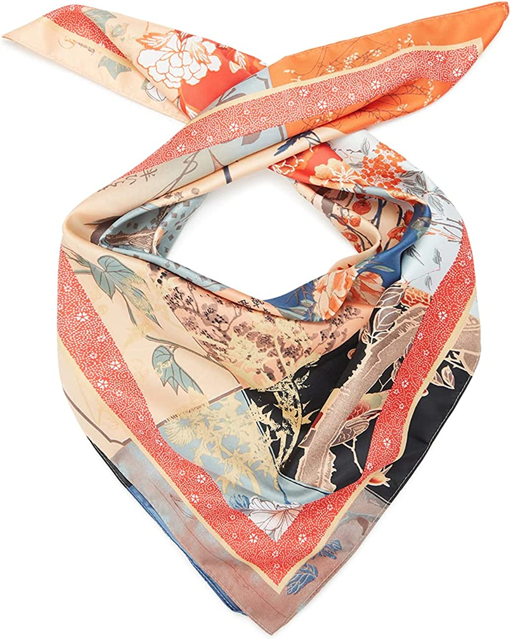 Desigual Women's Fabric Squared Foulard