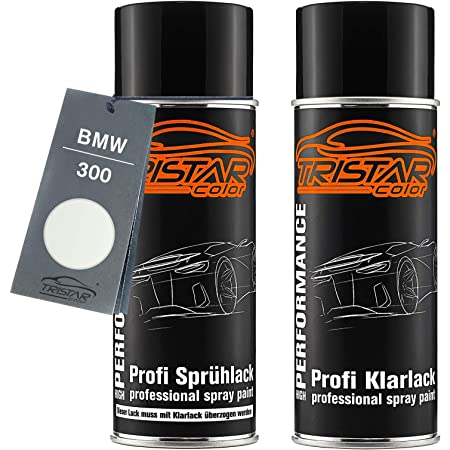 Auto Spray Paint Tin Set Bmw 300 Alpinweiss Iii Alpine White 3 Base Coat Clear Lacquer Aerosol Spray 400 Ml Auto