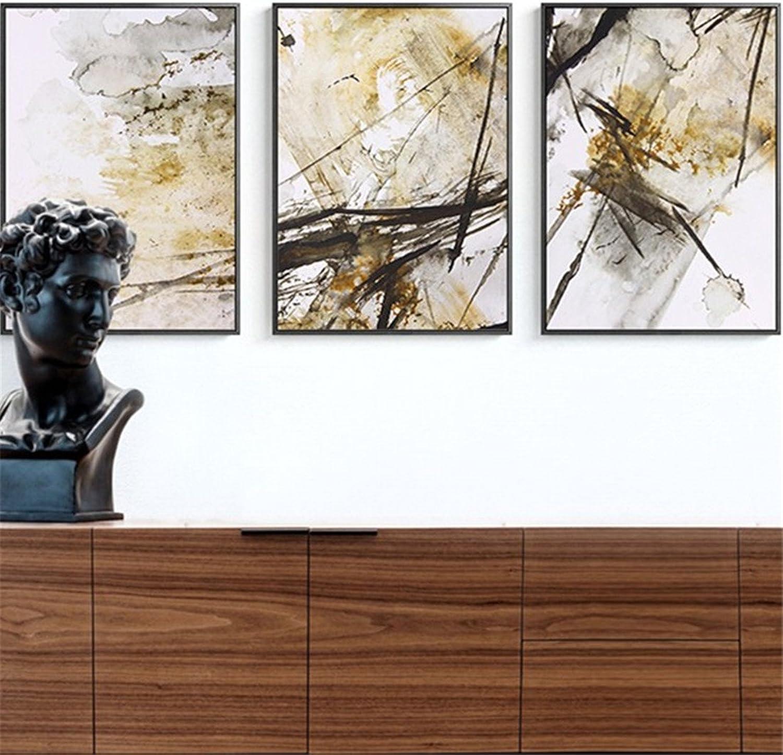 A la venta con descuento del 70%. BENJUNResumen Arte Salón sofá Fondo óleo Nórdico Nórdico Nórdico Estilo Minimalista Moderno Triple Pintura Mural Creativo (43  60  3 cm)  marca en liquidación de venta