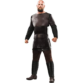 Vikings Ragnar Lothbrok Mens Fancy Dress Costume Small: Amazon.es ...
