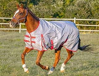 Chicks Saddlery Rugged Ride 1200 Denier Midweight Waterproof Turnout Blanket - 200 Gram Fill - Colored Binding