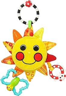 サッシー(Sassy) マイ?リトル?サンシャインミラー 赤ちゃんおもちゃ(0ヶ月から対象) 知育玩具 光る 鏡付き お鼻を押すとほっぺがピカピカ TYSA80379