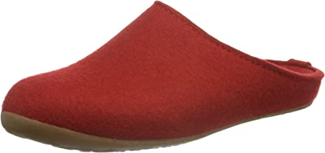 Haflinger Felt Slipper for Women | Everest Fundus, Ruby red
