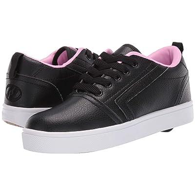Heelys GR8 Pro (Little Kid/Big Kid/Adult) (Black/Light Pink) Girls Shoes
