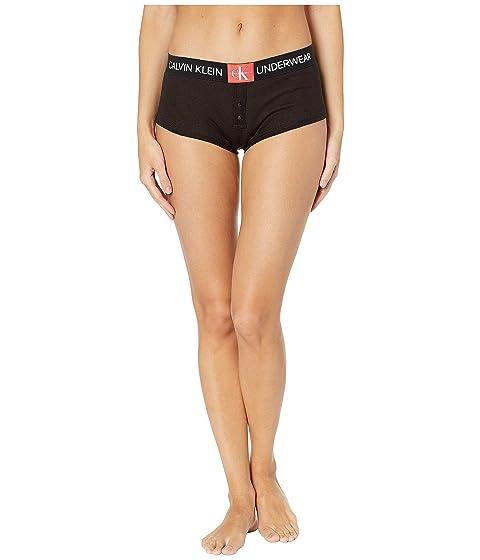 f0f6272f076 Calvin Klein Underwear Monogram Mesh Boyshorts at Zappos.com