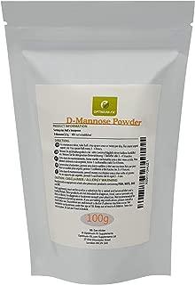 D-Mannose Powder - D-Manosa Pura en Polvo Premium – Suplemento de Alta Calidad del Reino Unido para el Soporte de la Vejiga y los Riñones – Alivio de Cistitis e Infecciones del Tracto Urinario (ITU)