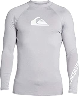 Quiksilver Men's All Time Ls Long Sleeve Rashguard Surf Shirt