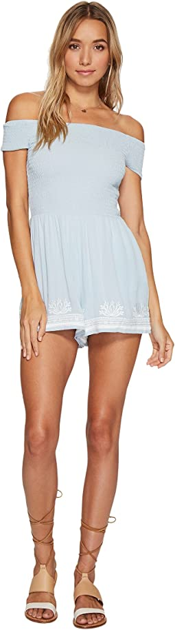 L*Space - Nanette Romper Cover-Up
