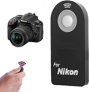 IR Wireless Shutter Release Remote ML-L3 Compatible with Nikon D5300, D3200, D5100, D7000, D600, D610, P7000, P7100, J1, V1, AW1 D40, D40X, D50, D60, D70, D70S, D80, D90, D3 Digital SLRS