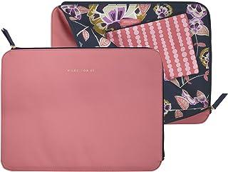 حقيبة كمبيوتر محمول من الجلد النباتي للنساء، حقيبة كمبيوتر محمول تناسب حتى 15 بوصة جديد MacBook Pro 2016-2019، حقيبة كمبيو...
