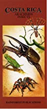 Costa Rica Arachnids & Insects Wildlife Guide (Laminated Foldout Pocket Field Guide) (English and Spanish Edition)