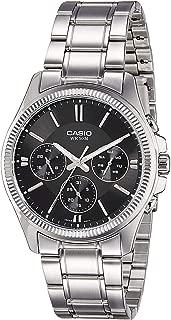 Casio Enticer for Men - Analog Stainless Steel Band Watch - MTP-1375D-1AV