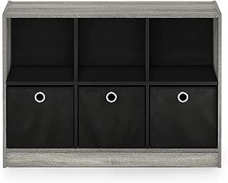 FURINNO Basic 3x2 Bookcase Storage, 3