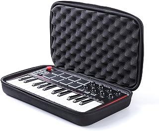 Esimen Hard Case for Akai Professional MPK Mini MKII | 25-Key Ultra-Portable USB MIDI Drum Pad & Keyboard Controller Carry...