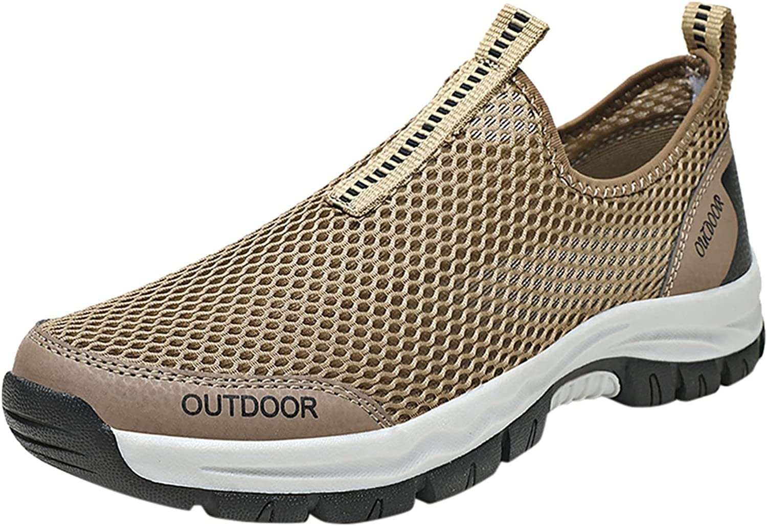 Mens Lightweight Slip-on Running Fashion Shoes Safety Special price for a limited time and trust Sneakers Walking