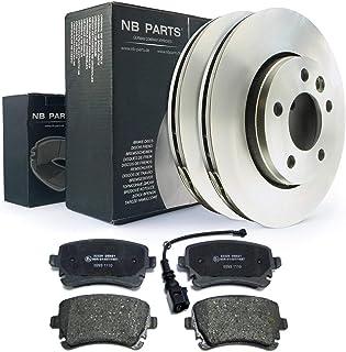 Bremsen/Bremsscheiben + Bremsbeläge hinten NB PARTS GERMANY 10042224