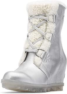 Sorel - Disney Frozen 2 Women's Joan of Arctic Ankle Boot, Pure Silver