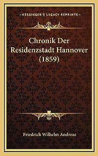 Chronik Der Residenzstadt Hannover (1859)