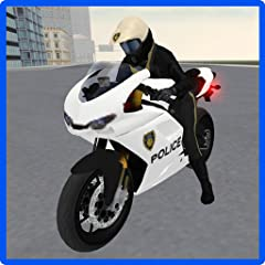 Open world city environment Entertaining motorbike driving simulation Perform exciting, amazing stunts and build up incredible speeds with nitro boosts Highly detailed environment and police motorbike model