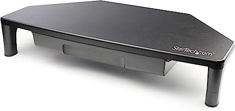"Monitor Riser Stand for Corner Workstation - for up to 32"" Monitors - Height Adjustable - Corner Monitor Stand (Monstndcornr)"