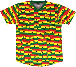 Ultras Ghana Party Flags Soccer Jersey