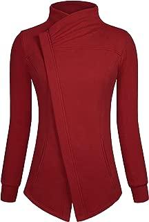 Ninedaily Women Zip Up Long Sleeve Sweetshirt Double Pockets Hoodie Jacket