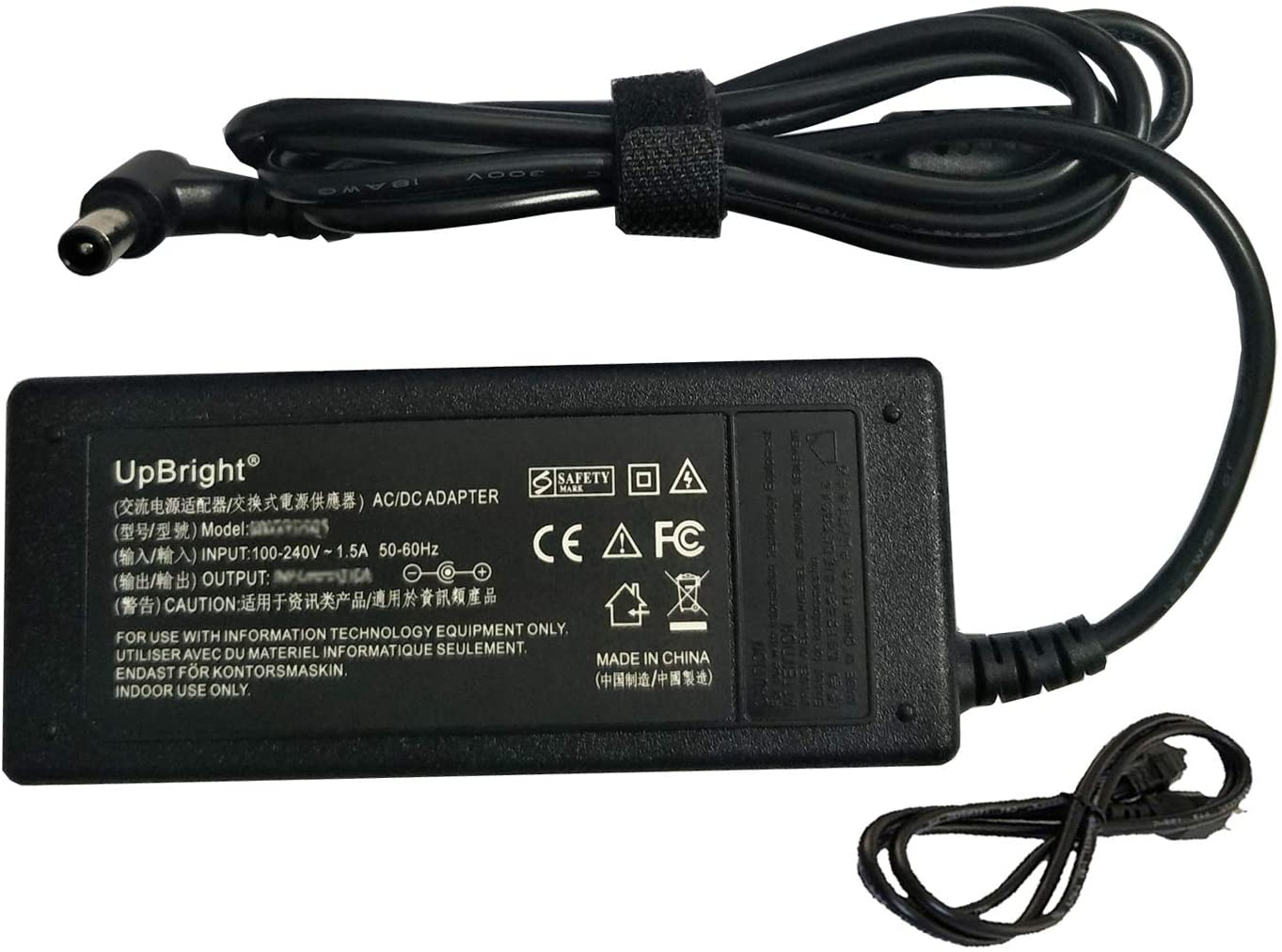 UpBright New 24V AC/DC Adapter Compatible with Samsung HW-JM37C HW-JM37 HW-KM45C HW-JM47 HWJM47 HW-KM57C HW-KM57 HW-KM57C/ZA C1140057 HWKM57C HWKM57 Series AirTrack Sound Bar SoundBar Power Supply