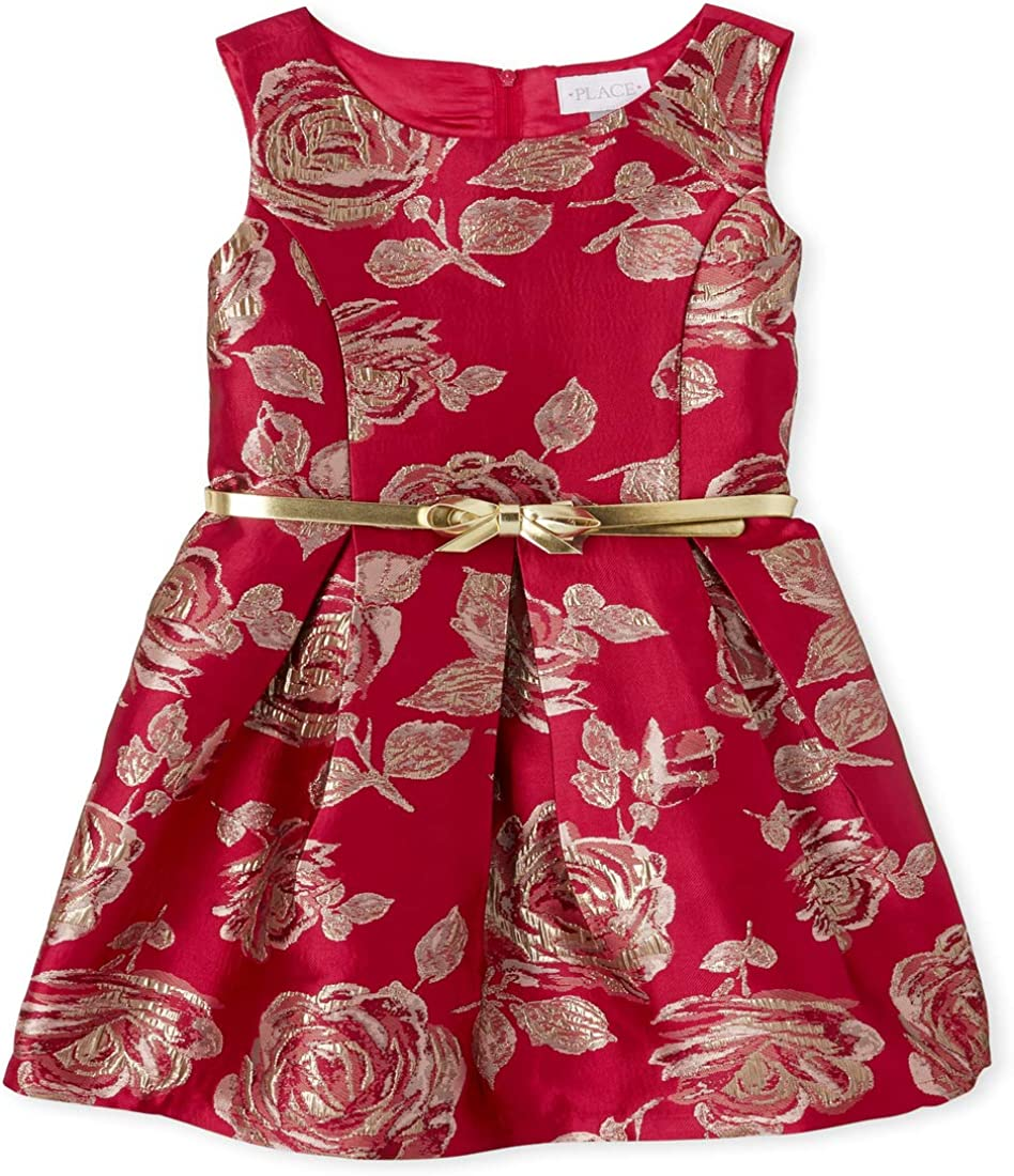 Max 43% OFF The Free shipping New Children's Place Girls' Printed Dress Sleeveless Floral