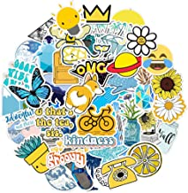 100 PCS VSCO Stickers for Hydro Flask, Cute Vsco Stickers Beach Theme for Laptop Stickers Motorcycle Bicycle Skateboard Decal Graffiti Patches Luggage (JXZ-AZ073+AZ085,4-6cm)