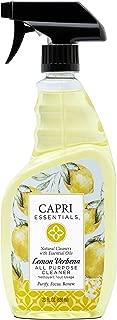 Capri Essentials 832070 Lemon Verbena All Purpose Cleaner