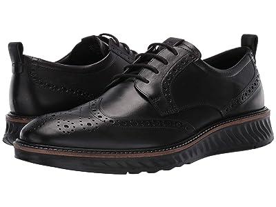 ECCO ST1 Hybrid Brogue Tie (Black) Men