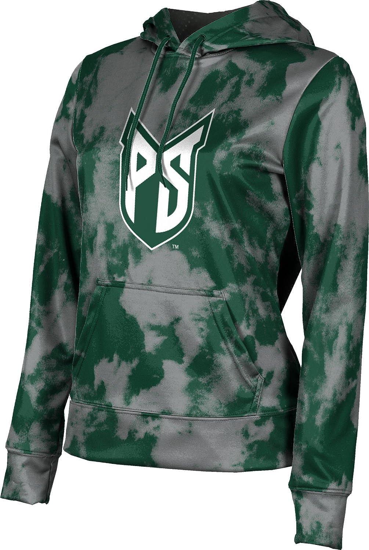ProSphere Portland State University Girls' Pullover Hoodie, School Spirit Sweatshirt (Grunge)