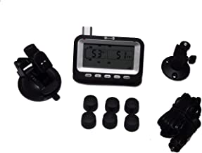 BELLACORP Tire Pressure Monitoring System TPMS Six (6) Sensors for Truck and Single Axle Trailer