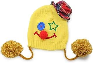 子ども 帽子 ニット帽 耳あて付き 秋冬 ハロウィン 仮装 ピエロ 男の子 女の子 キッズ HALLOWINいたずらニット帽
