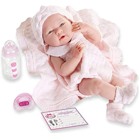 "Anatomically Correct Real Girl Baby Doll | 15"" All-Vinyl Baby Doll 