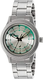 Fastrack Casual Watch for Women, Stainless Steel - 6158SM01