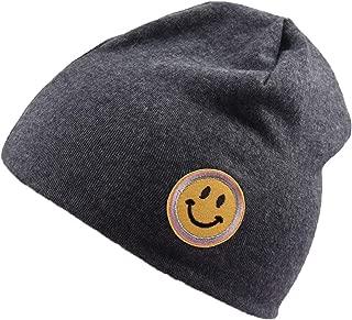 Fashion Cute Solid Knitted Cotton Hat Beanies for Newborn Baby Children Autumn Winter Warm Earmuff Hats