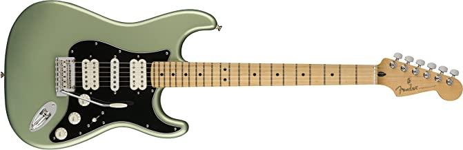 Fender Player Stratocaster HSH Electric Guitar - Maple Fingerboard - Sage Green Metallic
