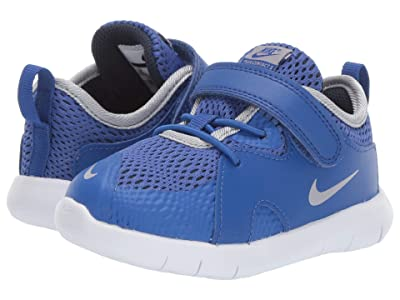 Nike Kids Flex Contact 3 (Infant/Toddler) (Midnight Navy/Volt/Blue Hero) Kids Shoes