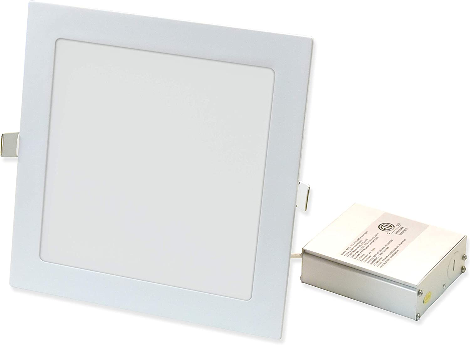 1260 Lumen, 8 inches Square Recessed Ultra Slim Ceiling LED Down