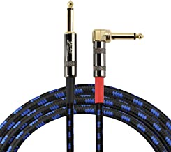 Yuker GC-1000 Guitar Instrument Cable, Straight 1/4