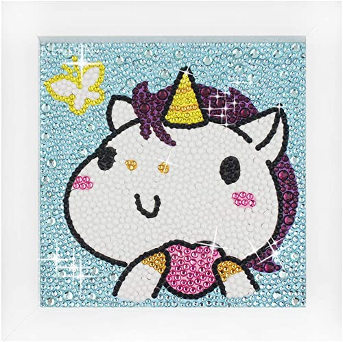 Fancy Diy Unicorn Diamond Dotz Kits for Kids Diamond Painting Kits for Kids Full Drill with Frame